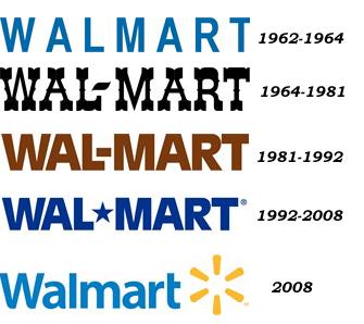 Walmart logos