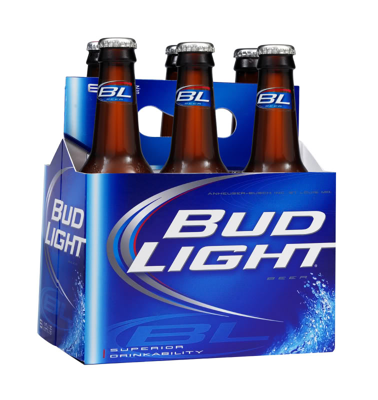 Ries pieces bud light what goes around finally comes around bud light 6pack bottles2 aloadofball Image collections